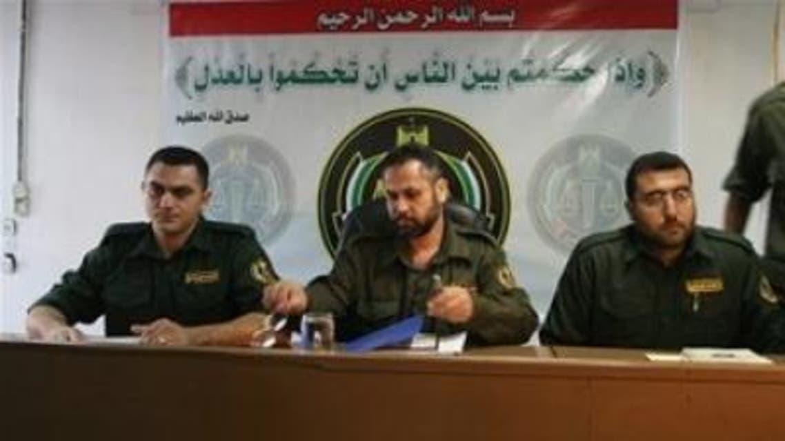 محكمة عسكرية تابعة لحكومة حماس في غزة