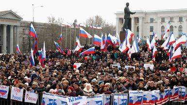 مواجهات بين أنصار موسكو ومؤيدي كييف في القرم