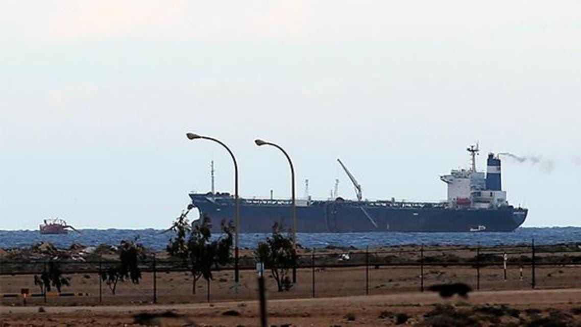 ناقلة نفط ترفع علم كوريا الشمالية في المياه الاقليمية في ليبيا