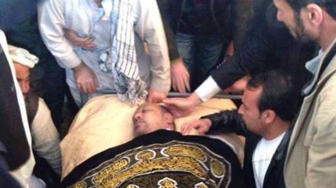 وفات معاون رئیس جمهور افغانستان