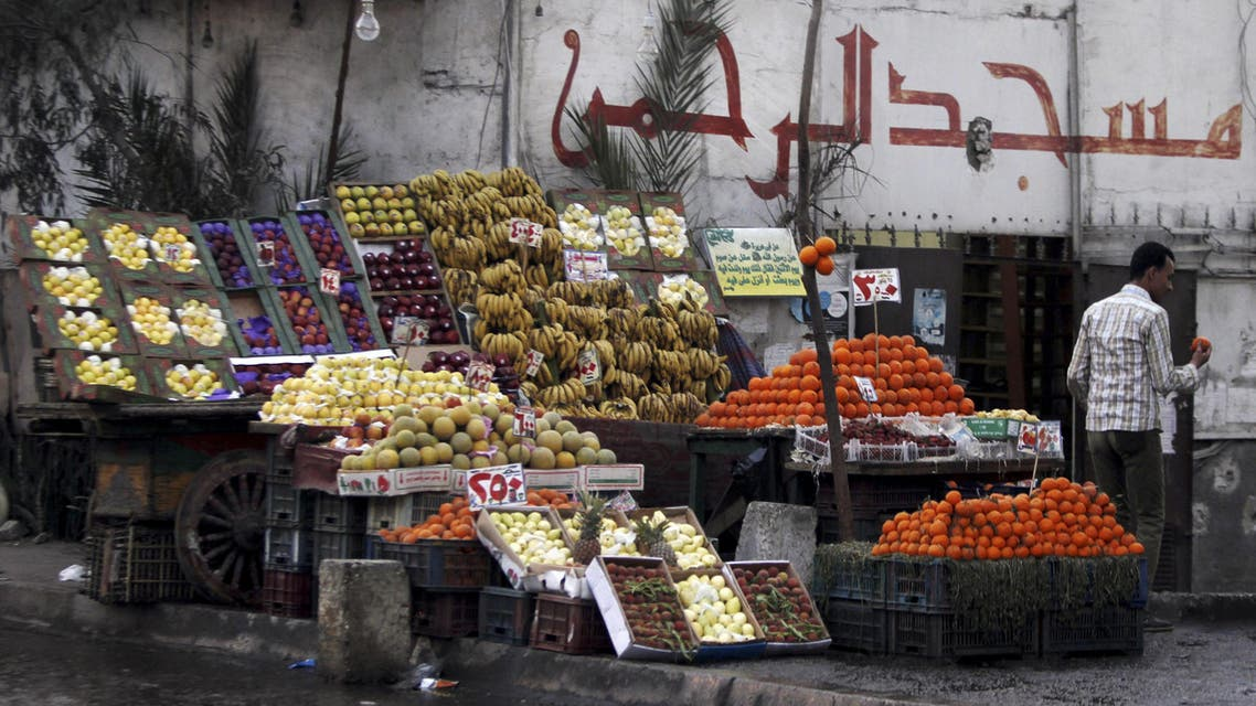 Increases in the cost of living in Egypt slowed to 9.8 percent in Feb. (File photo: Reuters)