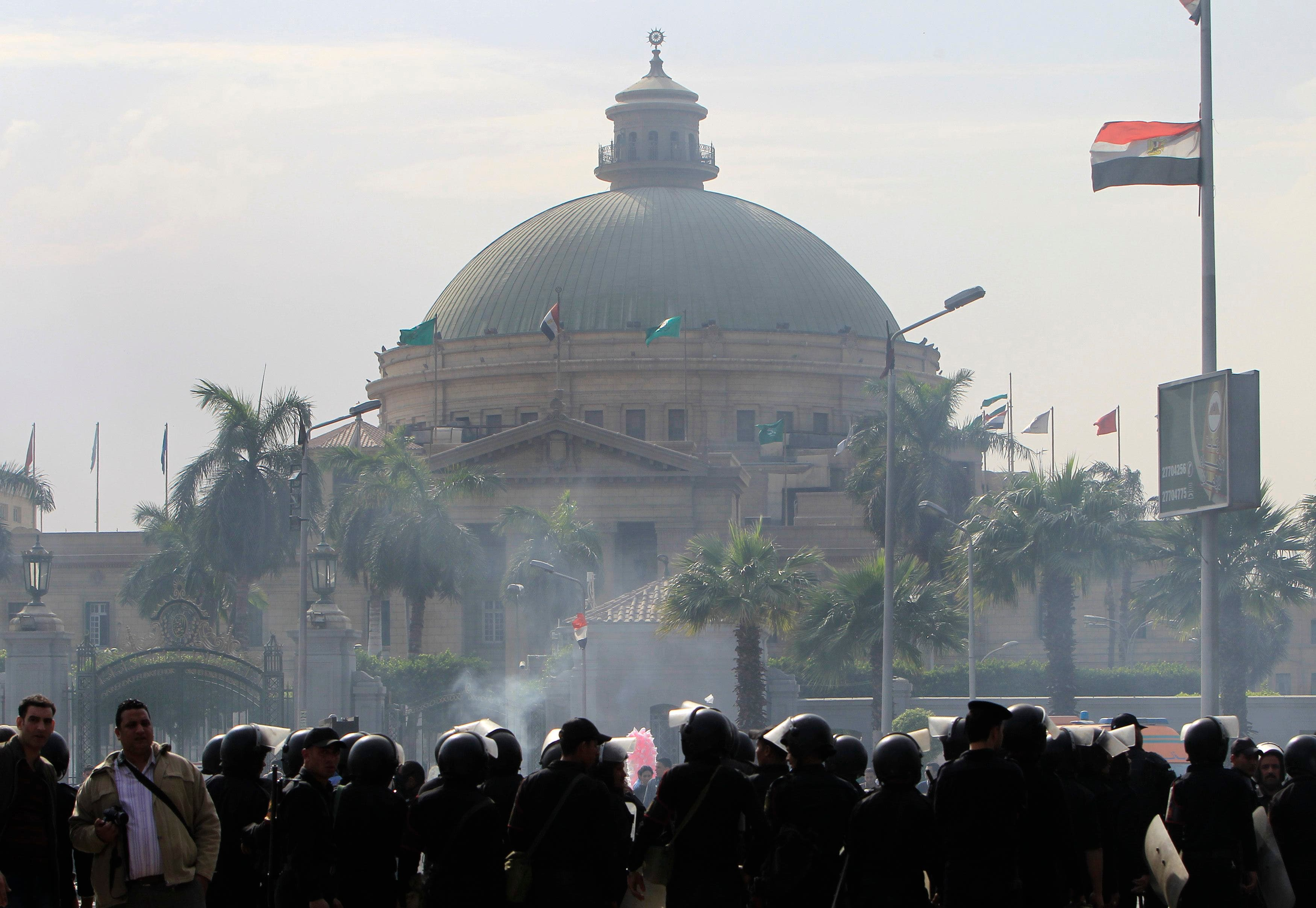 Brotherhood supporters protest in Cairo