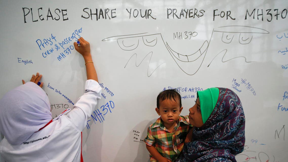 Family of Malaysian Airline passengers unite in hope