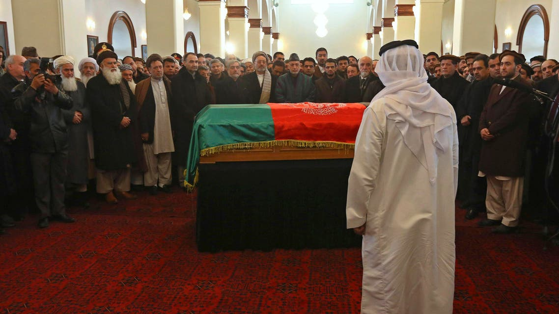 Afghans bid farewell to Vice President