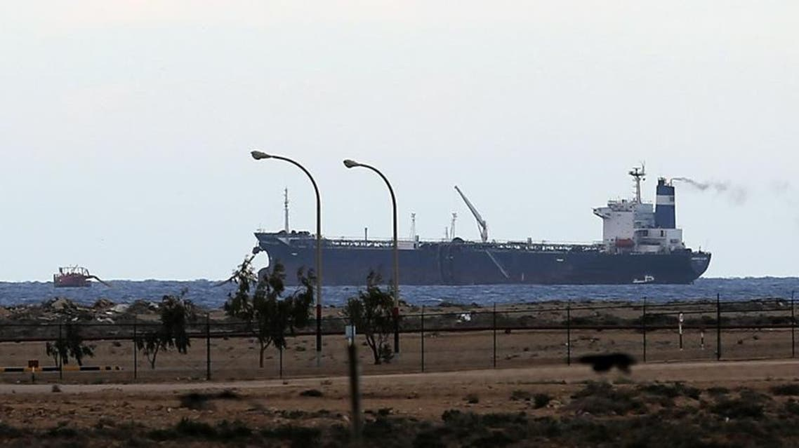 Libyan authorities had said late Monday that they had stopped the tanker as it tried to leave the Al-Sidra terminal