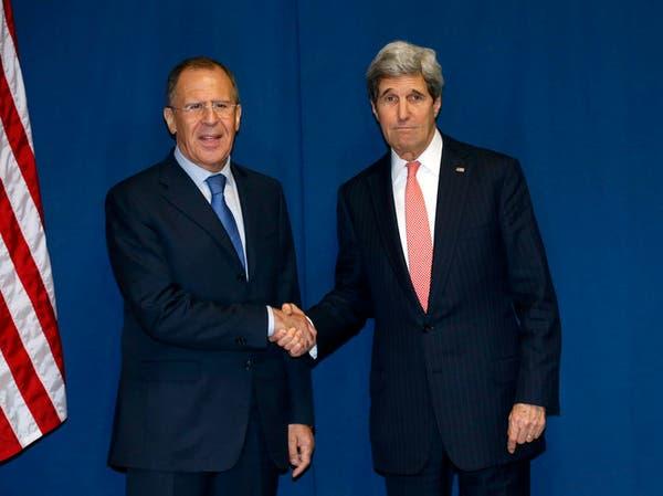 لافروف وكيري يناقشان مقترحات التهدئة في أوكرانيا