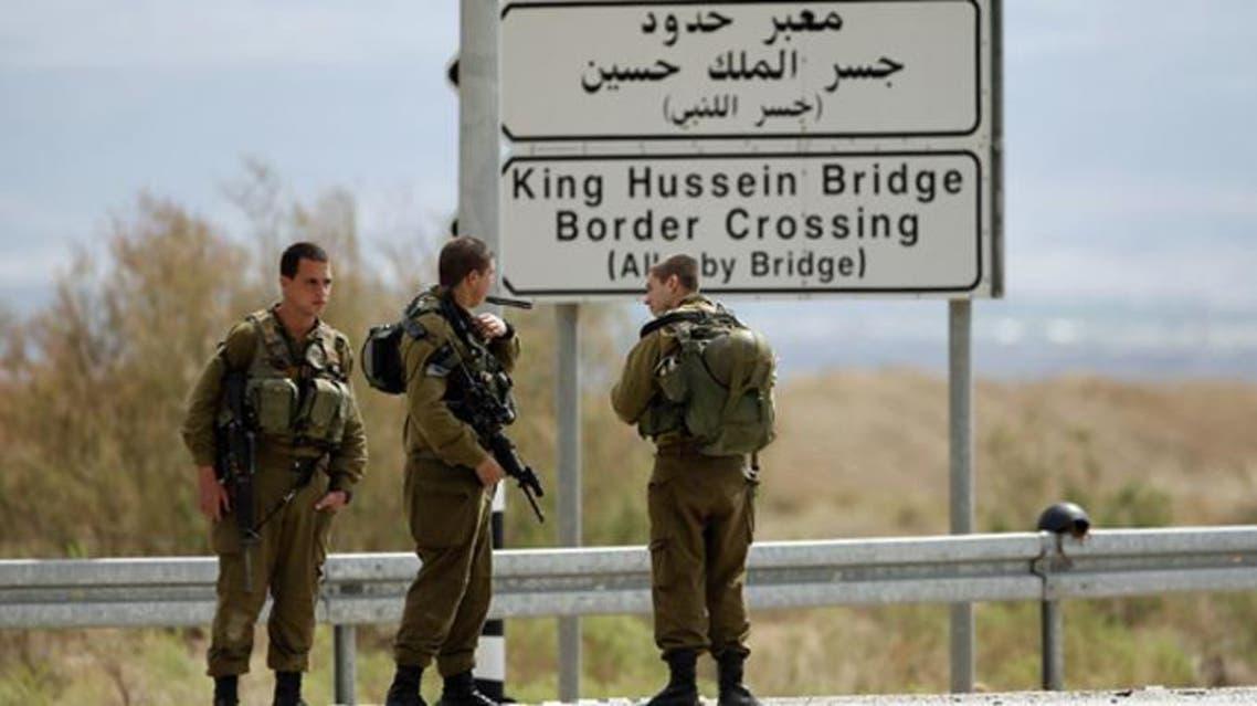 الحدود الاسرائيلية الاردنية معبر حدود اللنبي
