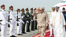 Egypt's army chief Abdel-Fattah al-Sisi arrives in UAE