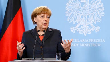 ميركل: اتفاق الشراكة بين أوكرانيا وأوروبا قريباً