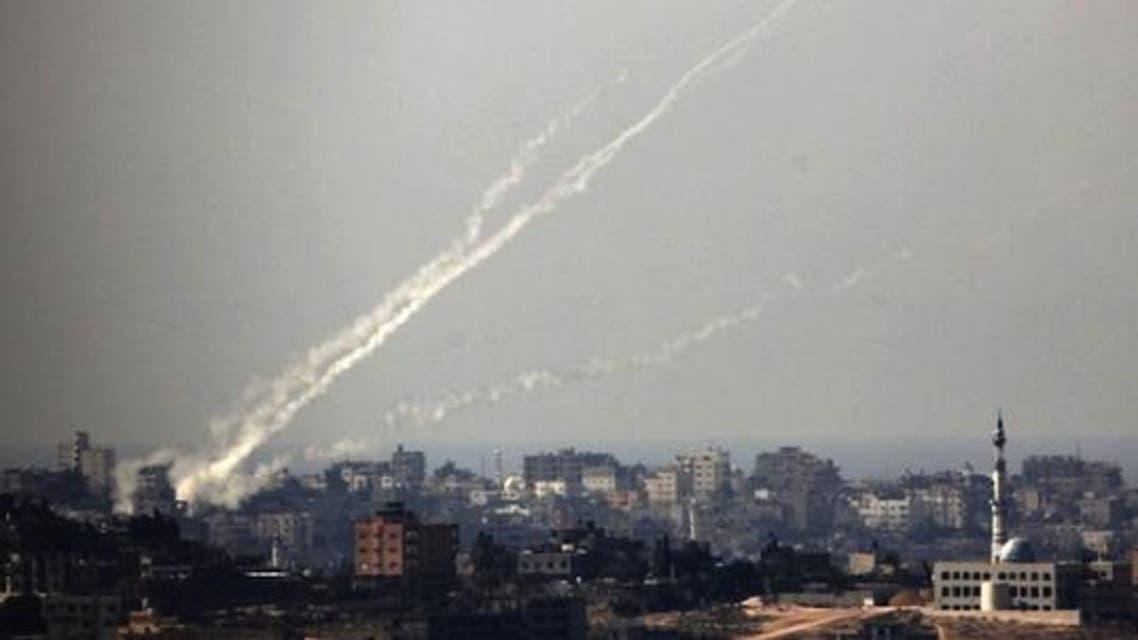 Rockets slam Israel reuters