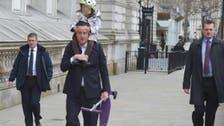 مشاكسة بين رئيس الوزراء البريطاني وابنته بشوارع لندن
