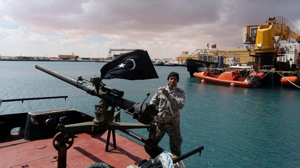 متمرد في برقة ليبيا نفط