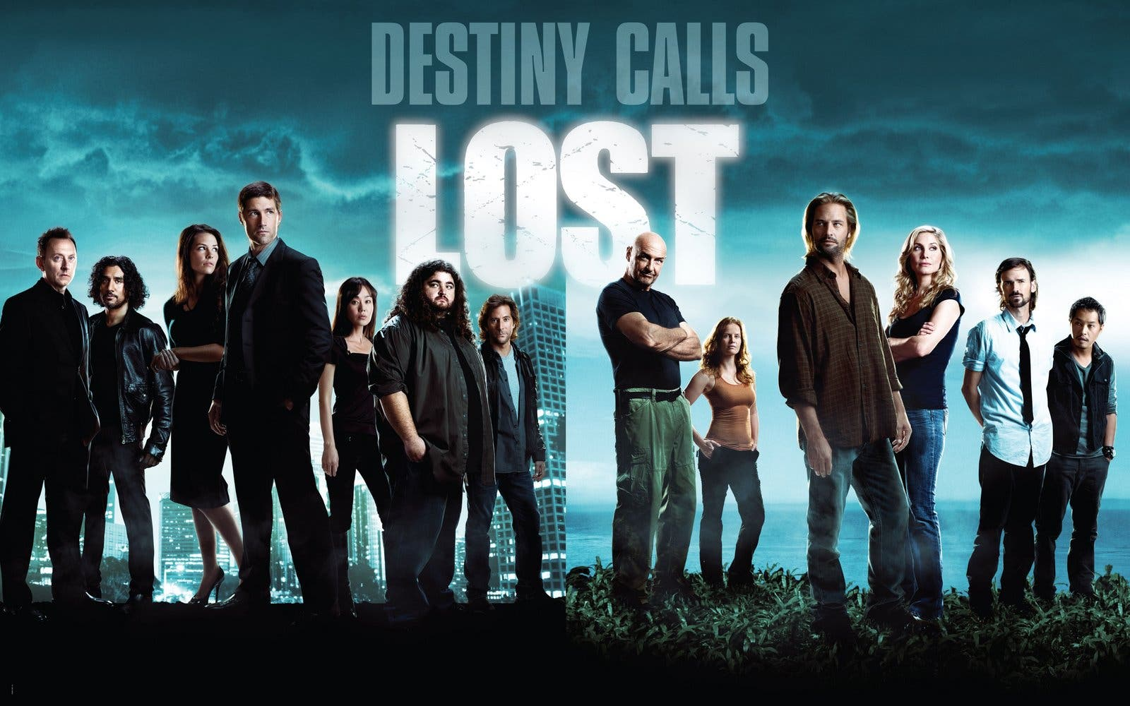 A poster of the hit TV series Lost, which focuses around survivors of a plane crash on a seemingly deserted island. (Photo courtesy of Buena Vista Television)