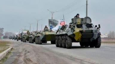 بالفيديو.. روسيا تحشد 80 ألف عسكري على حدود أوكرانيا
