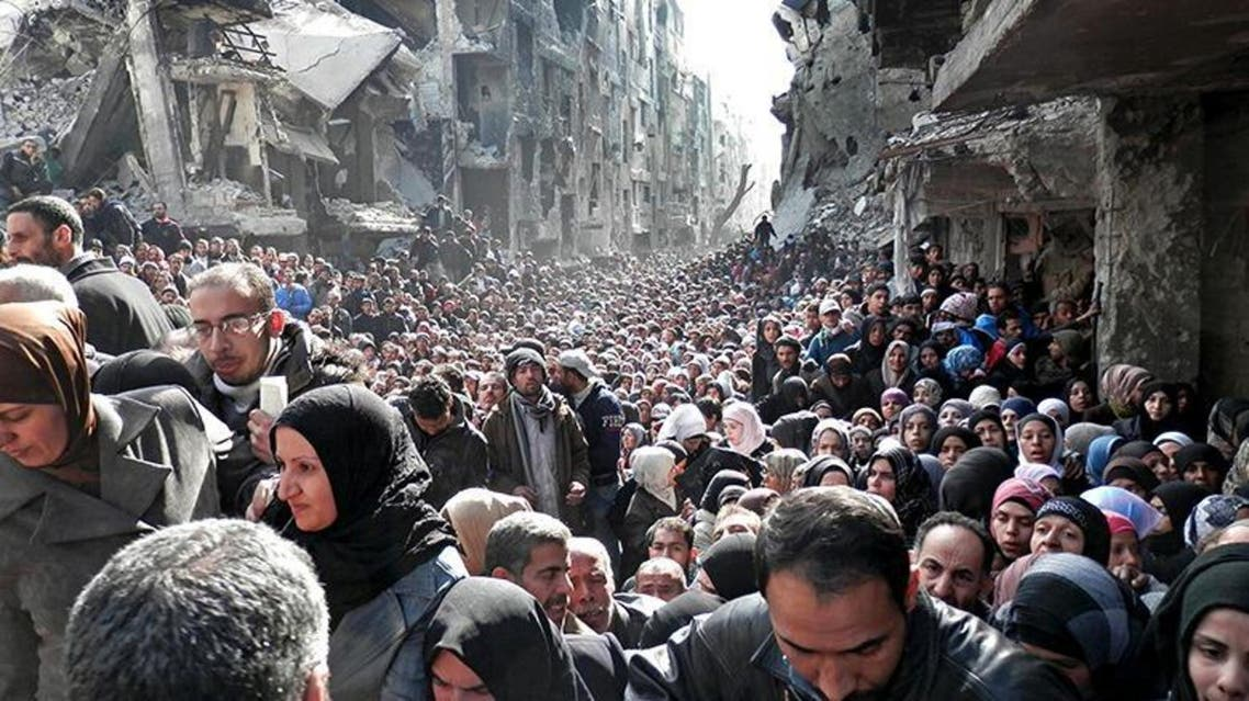 A U.N. agency said a photo of Yarmouk camp in Damascus is 'entirely genuine'. (Photo courtesy: UNRWA)