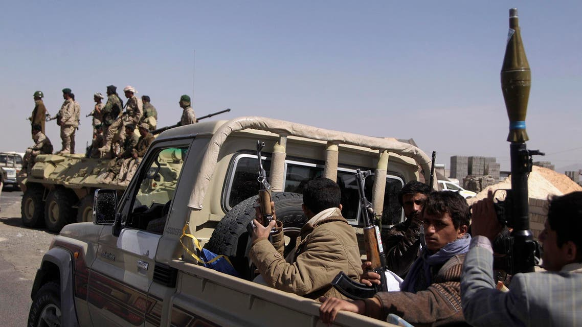 حوثيون والشرطة اليمنية