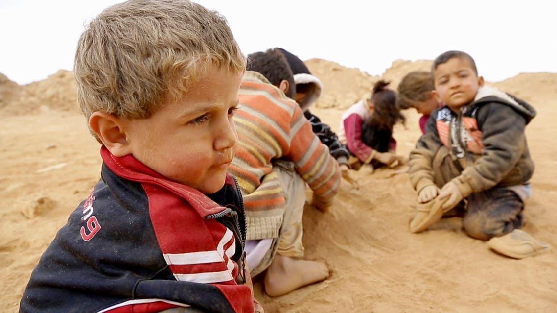اسبوع الافلام الوثائقية في قناة العربية عن سوريا - اطفال لاجئون من سوريا في الخارج