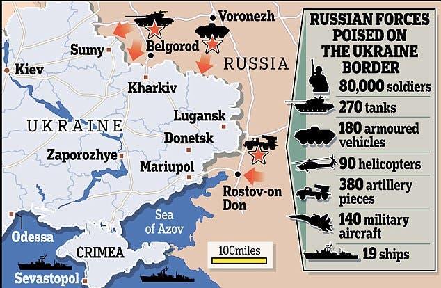 اعداد القوات العسكرية الروسية في القرم