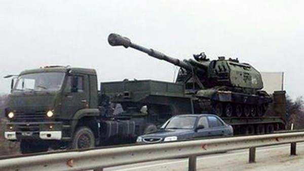 دبابات روسية في القرم