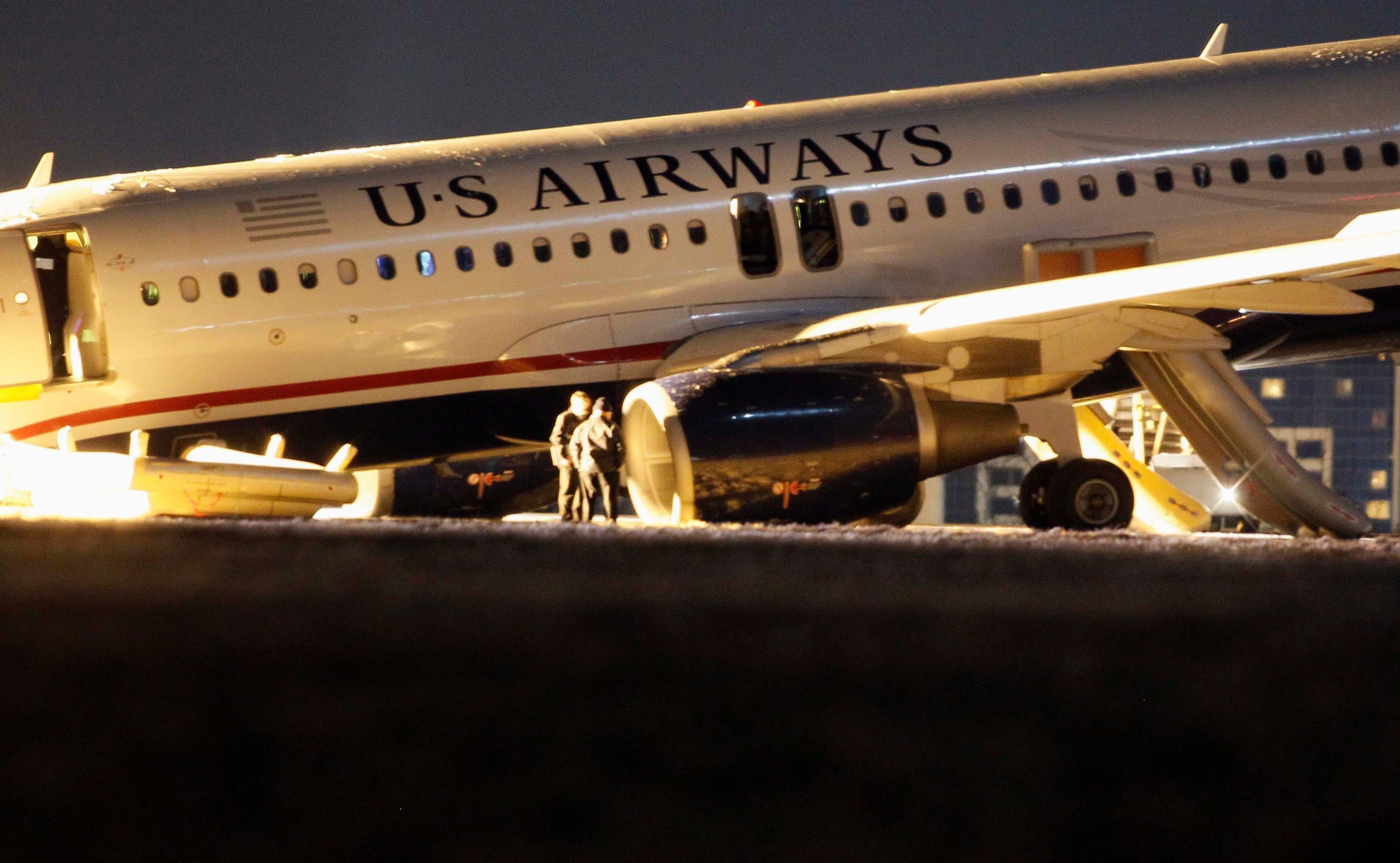تحطم طائرة أميركية في مطار فيلادلفيا