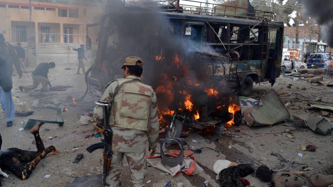 انفجار في بلوشستان في باكستان