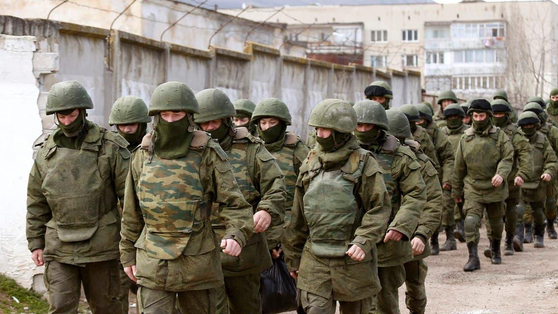 جنود روسيا في القرم