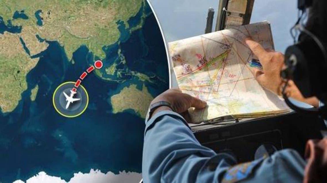 الموقع المفترض الجديد لسقوط الطائرة بين الهند ومدغشقر