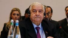 Syrian FM Muallem rushed to hospital