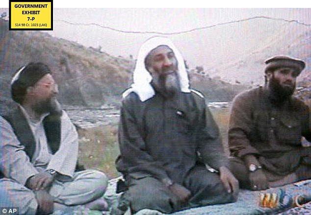 اسامة بن لادن و الظواهري في افغانستان