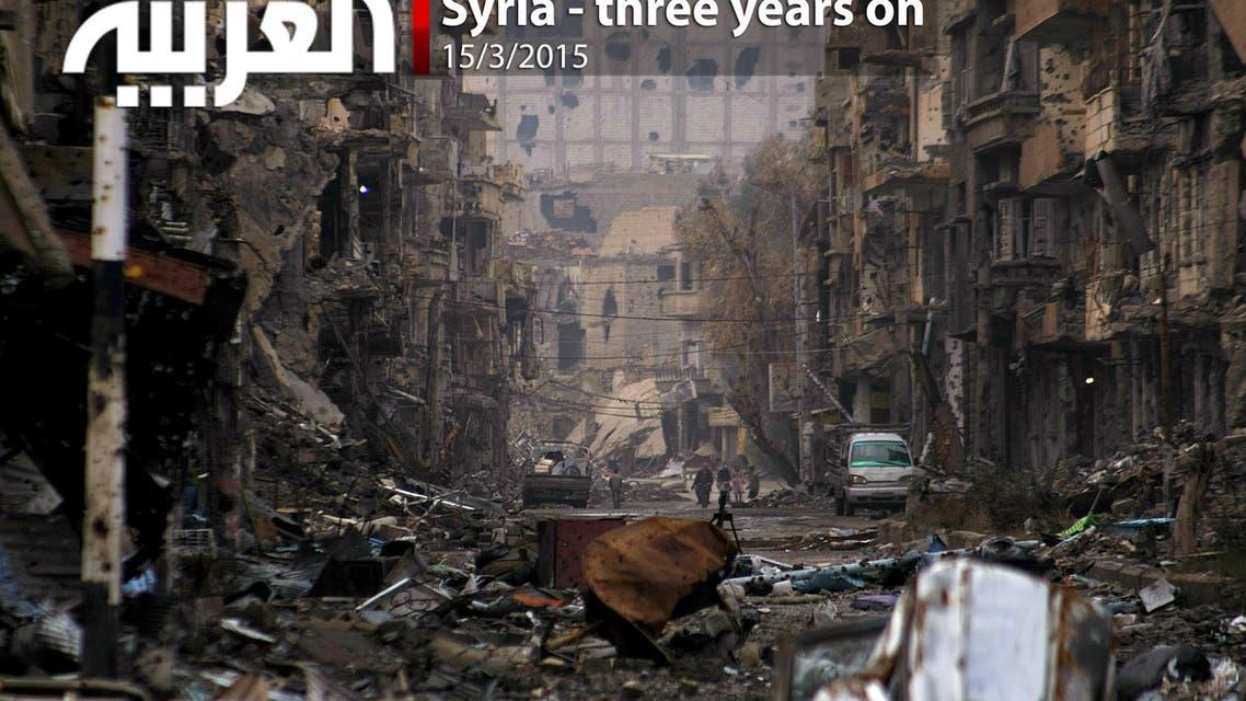 Syria - three years on