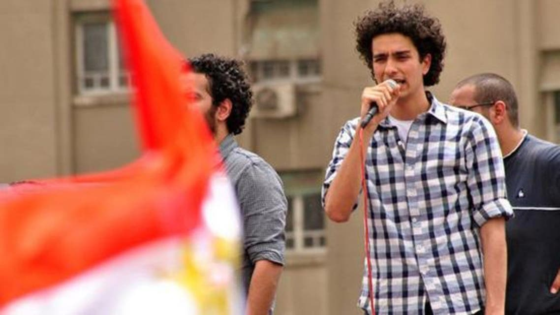 Mohammed Mohsen is known for singing leading voice during the Egyptian revolution in 2011. (Courtesy: Youm 7.com)