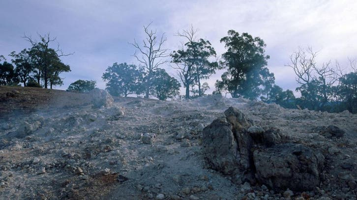 این تکه زمین 6 هزار سال است که می سوزد