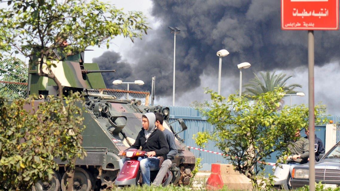 اعمال عنف مدينة طرابلس اللبنانية