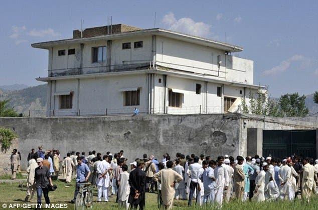 موقع عملية قتل اسامة بن لادن في باكستان