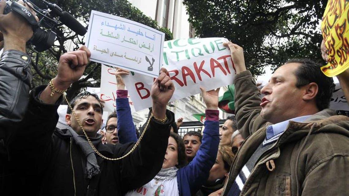 """تجمعين ل"""" بركات """"و """"رفض """" وسط العاصمة ضد الولاية الرابعة لبوتفليقة"""
