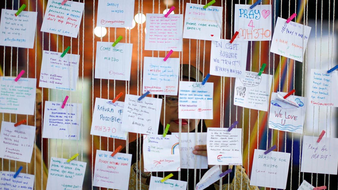 Messages of hope to flight 370 victims