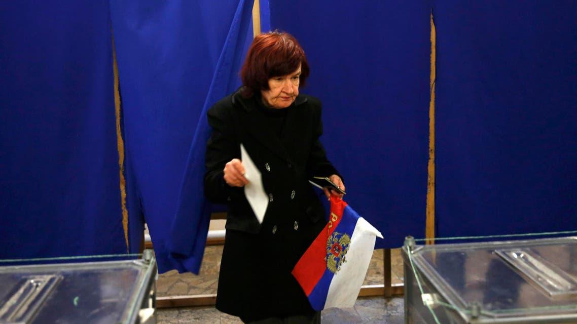Crimea votes in Russia referendum
