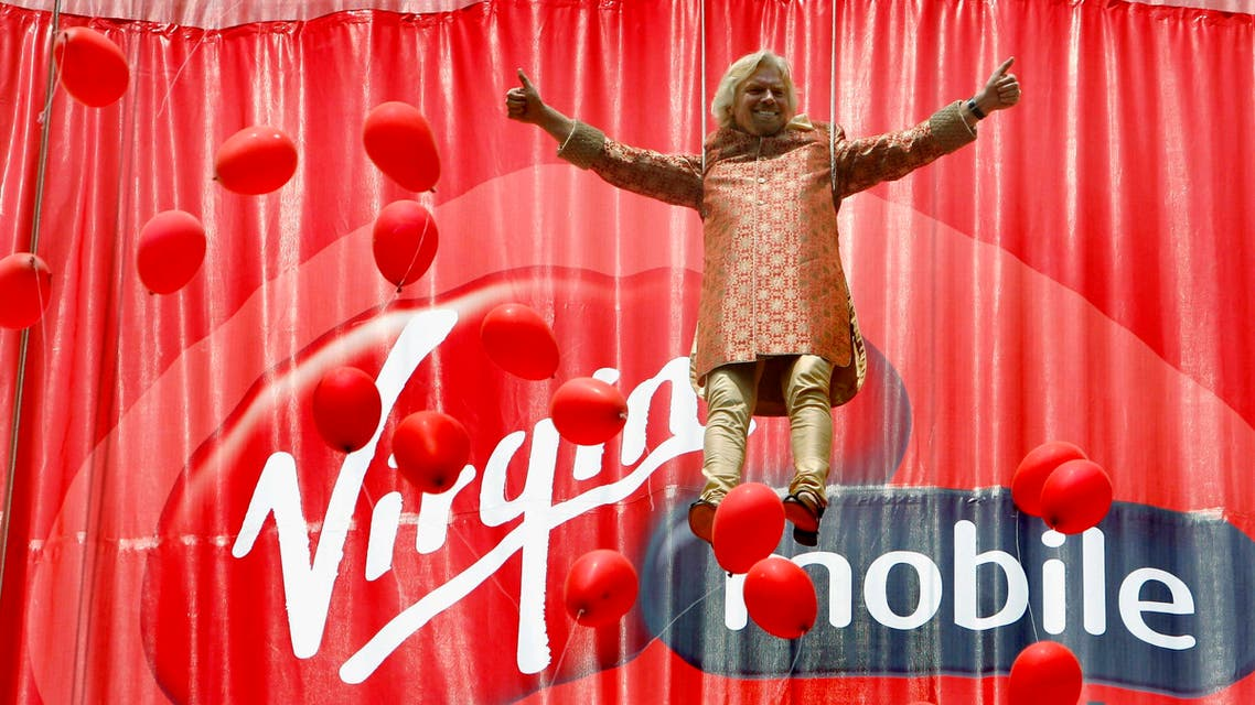 Richard Branson's Virgin Group part-owns Virgin Mobile Middle East & Africa. (File photo: Reuters)