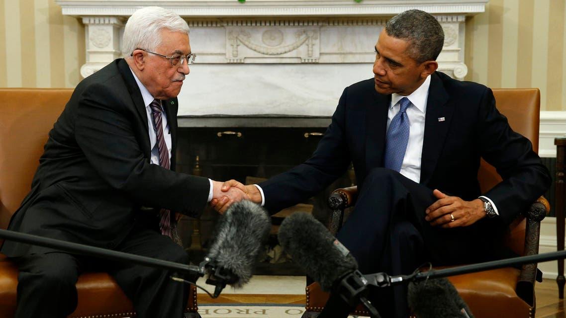 أوباما وعباس