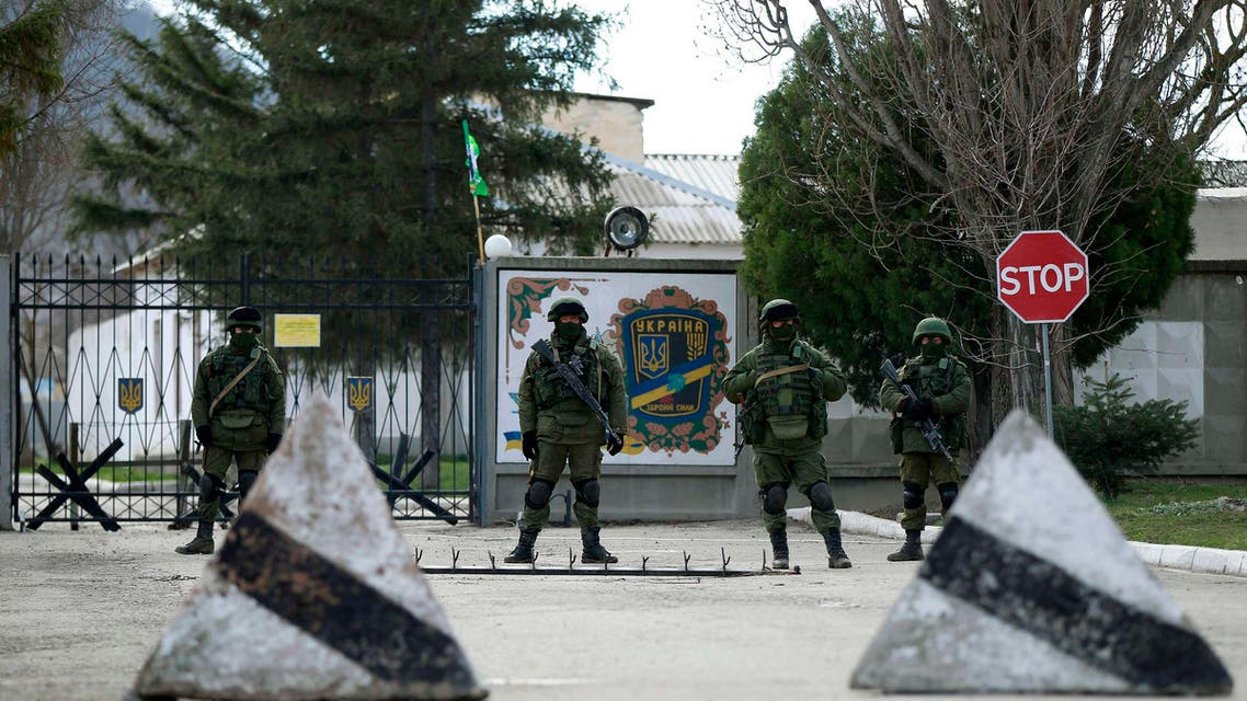 Tensions mount in Crimea