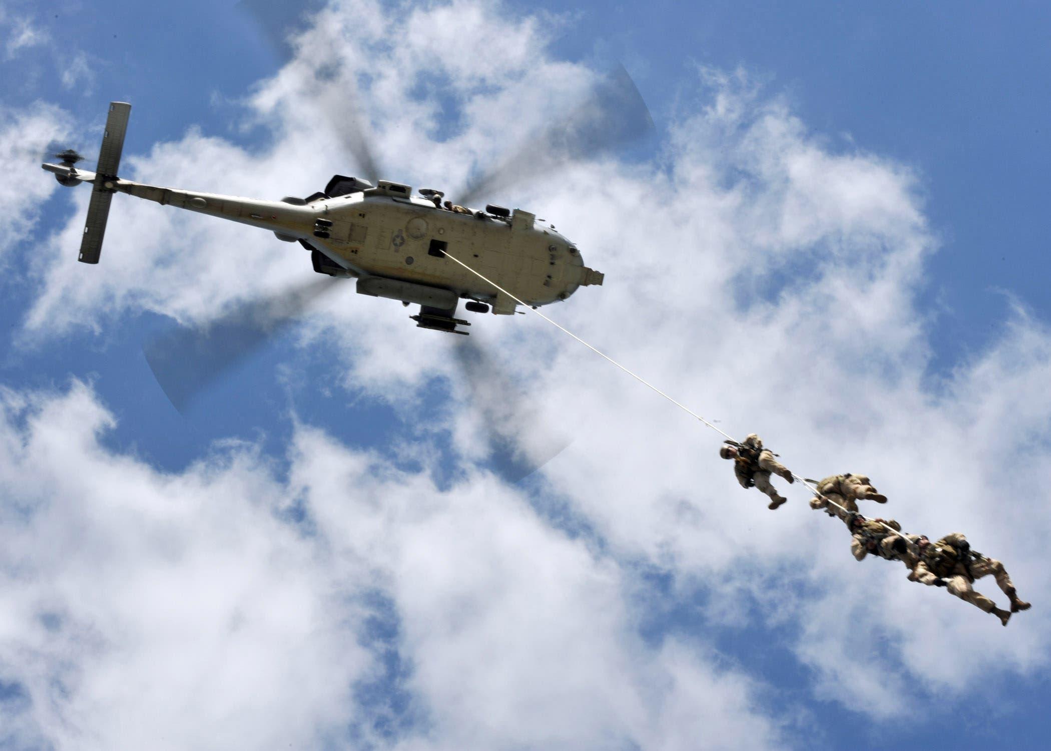 قوات أمريكية على ناقلة النفط الكورية في ليبيا