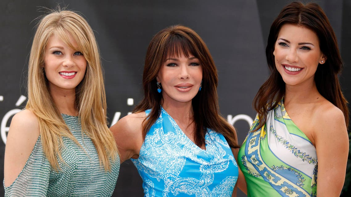 "Cast members (L-R) Kim Matula, Hunter Tylo and Jacqueline MacInnes Wood pose during a photocall for the TV series ""The Bold and Beautiful"" at the 52nd Monte Carlo Television Festival in Monaco, June 12, 2012. (File photo: Reuters)"