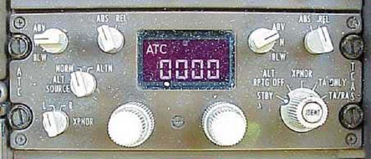 إذا تم تعطيل الـ   Transporder عن العمل تختفي الطائرة عن الرادارات