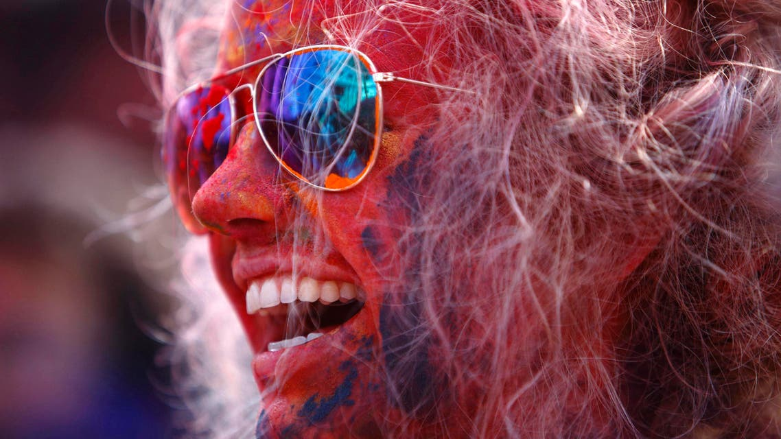 Celebrating the 'festival of colors'