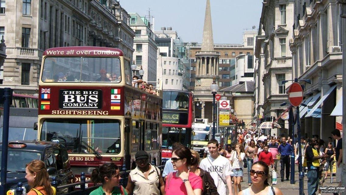 شوارع بريطانيا