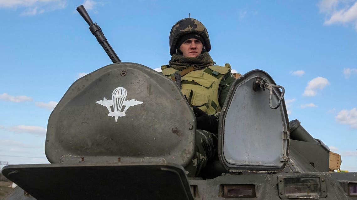 جيش اوكرانيا بالقرب من القرم