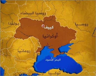 خريطة أوكرانيا