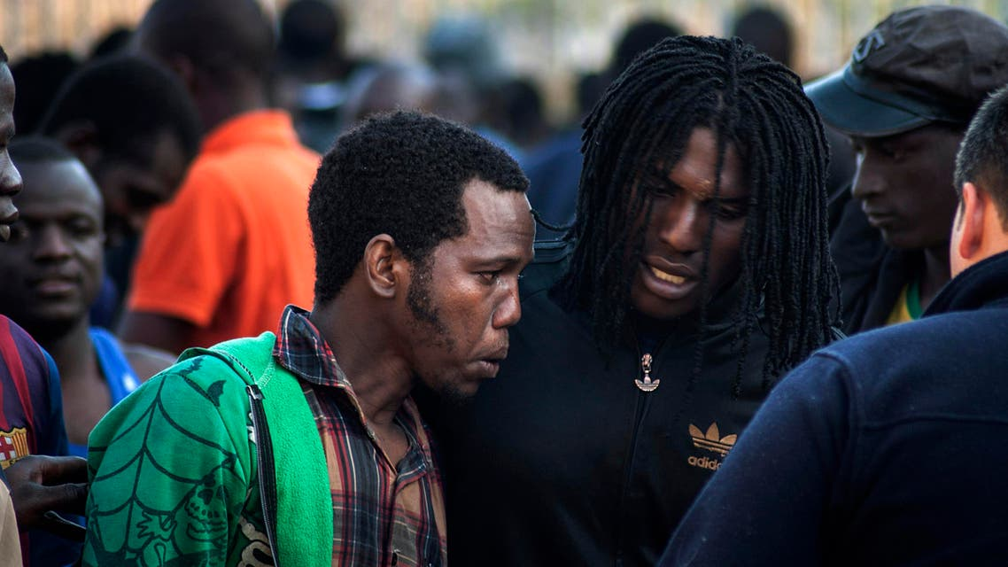 Migrants try their luck at Melilla border