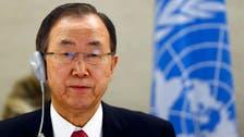 U.N. chief heads to Russia for talks with Putin on Ukraine crisis