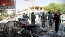 حمله مهاجمان انتحاری طالبان به فرماندهی پلیس قندوز افغانستان